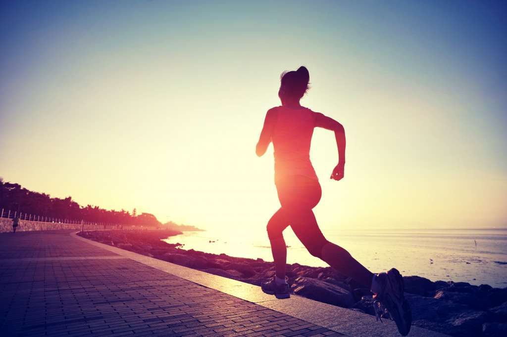 jogging exercise